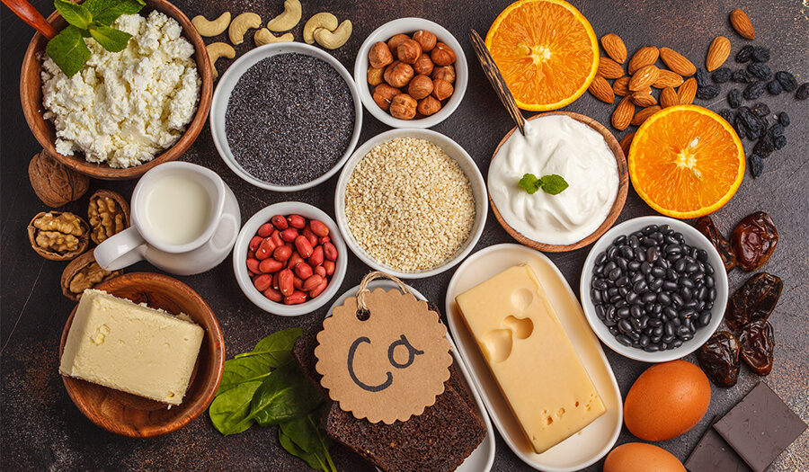 Makanan Mengandung Kalsium
